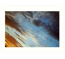 Yet Another Southmead Sunset Art Print