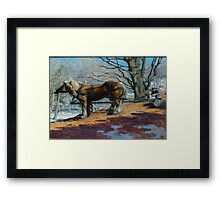 Harrington Team Looking Back Framed Print