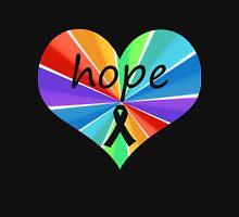 Hope Heart Color Burst Unisex T-Shirt