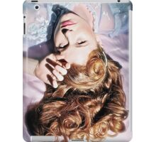 Old Hollywood Redhead iPad Case/Skin