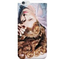 Old Hollywood Redhead iPhone Case/Skin