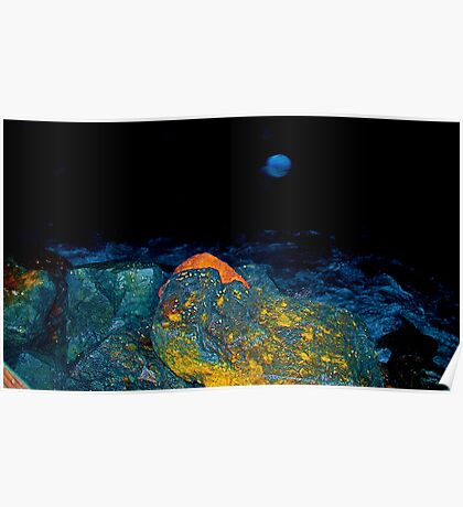 Alien Seascape Poster