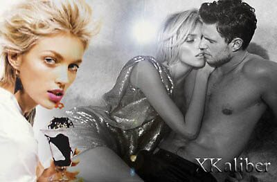 Anja Rubik Test Composition by XKaliber
