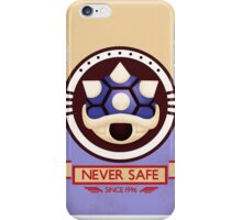 Never Safe - Mario Kart Print iPhone Case/Skin