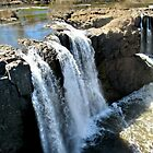 The Great Falls in the Spring, April 2015 - view 1 by Jane Neill-Hancock