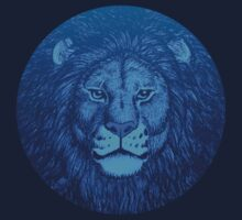 Blue Lion Bubble portrait by Cheerful Madness!! by cheerfulmadness