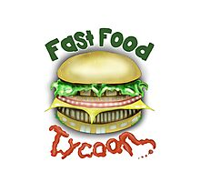 Fast Food Tycoon Photographic Print