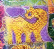 LACY ANIMALS Sticker