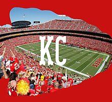 Kansas City by BaseballBacks