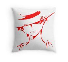 Monkey D Luffy Soft Art Throw Pillow