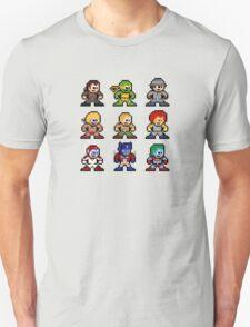 8-bit 80s Cartoon Heroes T-Shirt