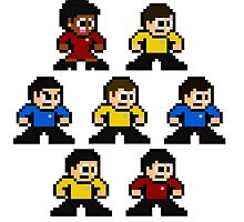 8-bit Star Trek: The Original Series by 8 Bit Hero