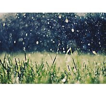This is Summer Rain Photographic Print