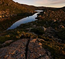Dawn Hues on Tarn Shelf by Robert Mullner