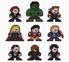 8-bit Movie Avengers Kids Clothes