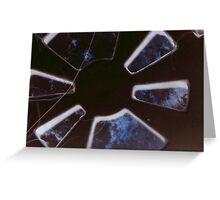 Space Window Greeting Card