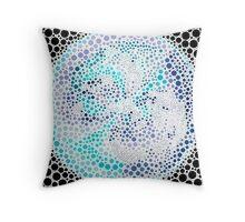 Bubble Soup Throw Pillow