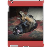 My bed iPad Case/Skin