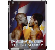 Mayweather vs Pacquiao iPad Case/Skin