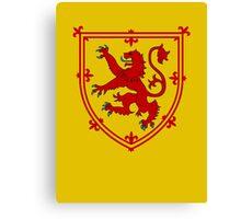 Royal Standard of Scotland Canvas Print