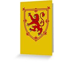 Royal Standard of Scotland Greeting Card