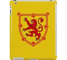 Royal Standard of Scotland iPad Case/Skin