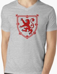 Royal Standard of Scotland Mens V-Neck T-Shirt