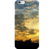 """Sunset Thru Trees"" iPhone Case/Skin"
