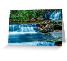 South Carolina Waterfalls Greeting Card