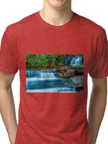 South Carolina Waterfalls Tri-blend T-Shirt