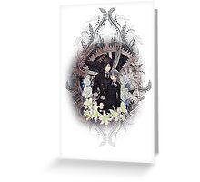Kuroshitsuji (Black Butler) - Ciel Phantomhive & Sebastian Michaelis 4 Greeting Card
