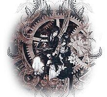 Kuroshitsuji (Black Butler) - Ciel Phantomhive & Sebastian Michaelis 5 by IzayaUke