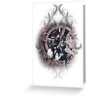 Kuroshitsuji (Black Butler) - Ciel Phantomhive & Sebastian Michaelis 5 Greeting Card