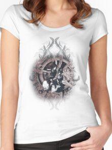 Kuroshitsuji (Black Butler) - Ciel Phantomhive & Sebastian Michaelis 5 Women's Fitted Scoop T-Shirt