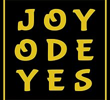 Joy Ode Yes – Gold by alannarwhitney
