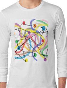 Twinkle Lights Fiasco Long Sleeve T-Shirt