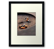 No Smoking Framed Print