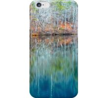 Reflections on  Pinnacle Lake iPhone Case/Skin
