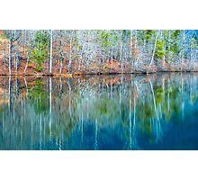 Reflections on  Pinnacle Lake Photographic Print