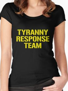 tyranny response team Women's Fitted Scoop T-Shirt