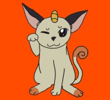 Meowth Lucky Cat Kids Clothes