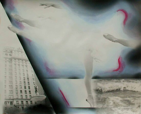Abstract Ballet I by Loren Ellis
