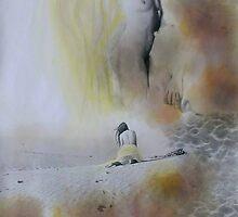 Beach Love II by Loren Ellis