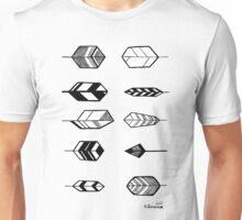 Feather Tile Unisex T-Shirt