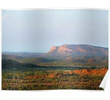 West MacDonnell Ranges northern territory Poster