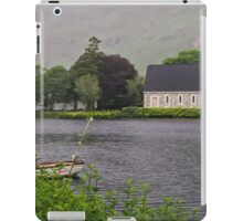 Chapel In The Mist - Gougane Barra - County Cork - Ireland iPad Case/Skin