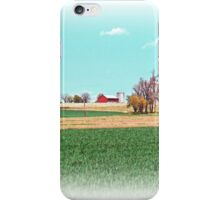 Farm And Crops iPhone Case/Skin