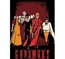 Gunsmoke Photographic Print