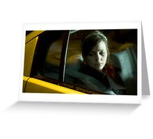 Taxi Home 01 Greeting Card