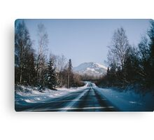 Don't Mind the Mountain Canvas Print